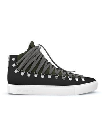 Swear Redchurch Hi-top Sneakers - Black