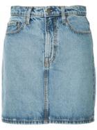 Nobody Denim Piper Denim Mini Skirt - Blue