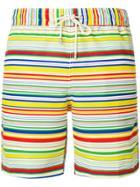 Loewe Stripe Print Swimming Shorts - Multicolour
