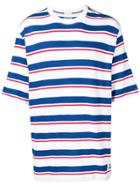 Tommy Jeans Multi Stripe T-shirt - White