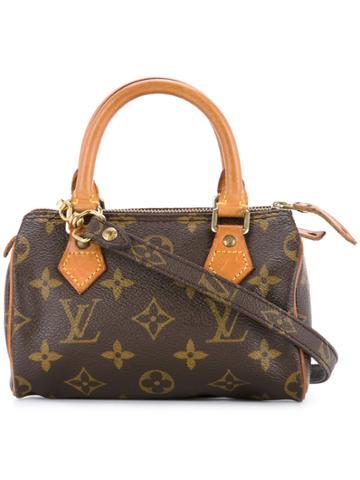 Louis Vuitton Vintage Monogram Mini Speedy Handbag - Brown