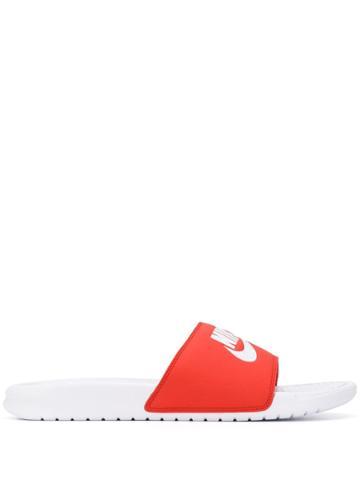 Nike Logo Slides - Red