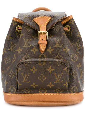 Louis Vuitton Vintage Monogram Mini Montsouris Backpack - Brown