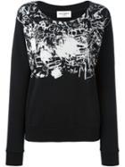 Saint Laurent Printed Sweatshirt