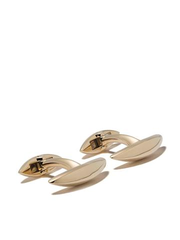 Shaun Leane Arc Cufflinks - Yellow Gold Vermeil