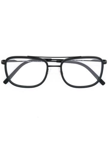 Dolce & Gabbana Square Frame Glasses, Black, Acetate/metal