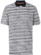 Missoni Striped Polo Shirt - Black