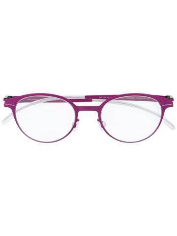 Mykita Koala Glasses, Pink/purple