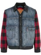 Levi's Type Ll Hybrid Trucker Jacket - Blue