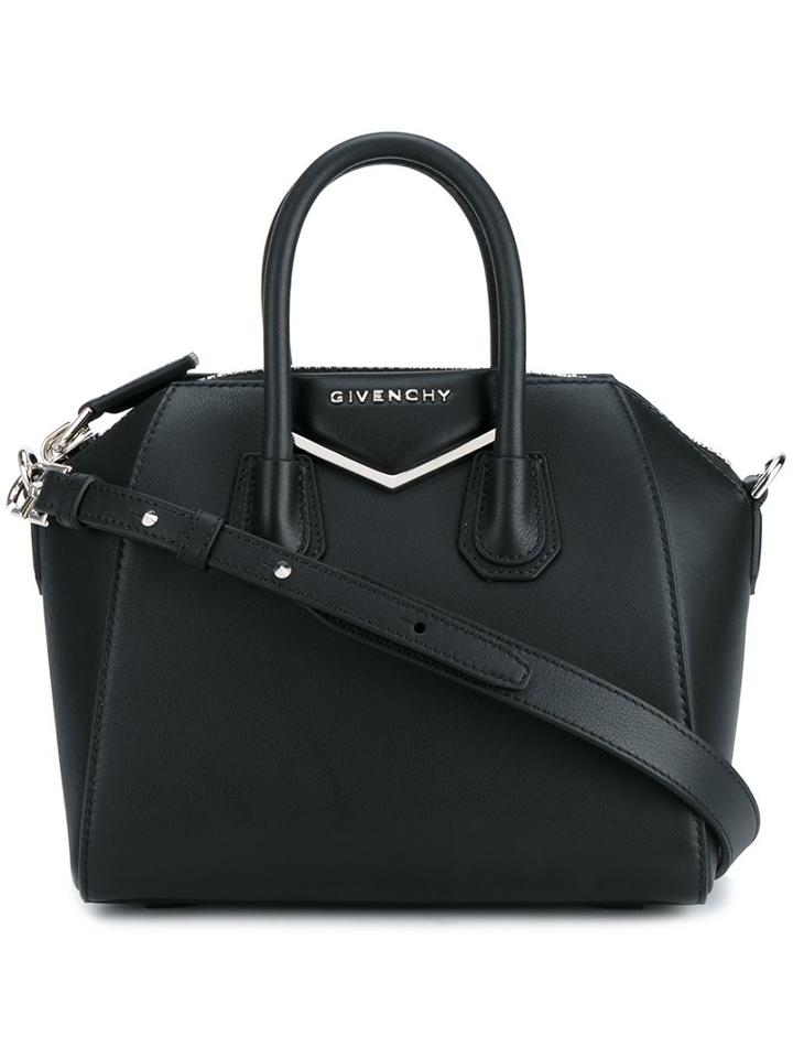 Givenchy Mini Antigona Shoulder Bag, Women's, Black