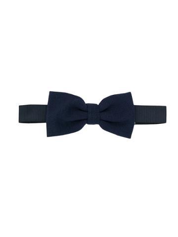 Paolo Pecora Kids Teen Pre-tied Bow Tie - Blue