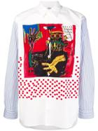 Comme Des Garçons Shirt Printed Shirt - White
