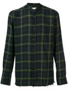 Mauro Grifoni Plaid Shirt - Green