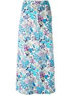 Celine Vintage Floral Print Skirt