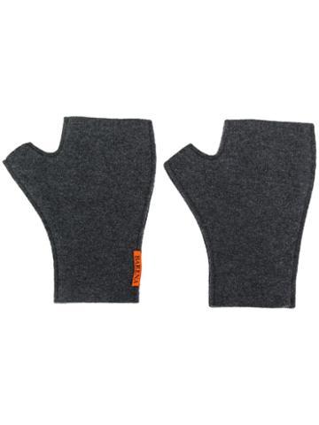 Barena Fingerless Gloves - Grey