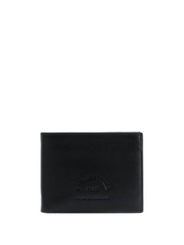 Karl Lagerfeld Logo Embossed Card Case - Black