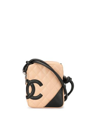 Chanel Pre-owned Quilted Cambon Line Shoulder Bag - Neutrals