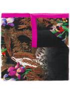 Etro Patterned Scarf, Women's, Silk