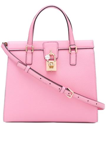 Dolce & Gabbana - Classic Tote Bag - Women - Calf Leather - One Size, Pink/purple, Calf Leather