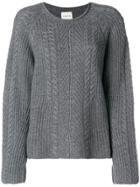 Le Kasha Grenade Sweater - Grey