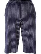 Majestic Filatures Striped Shorts
