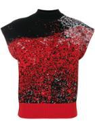 Vejas Printed Tank Top - Red