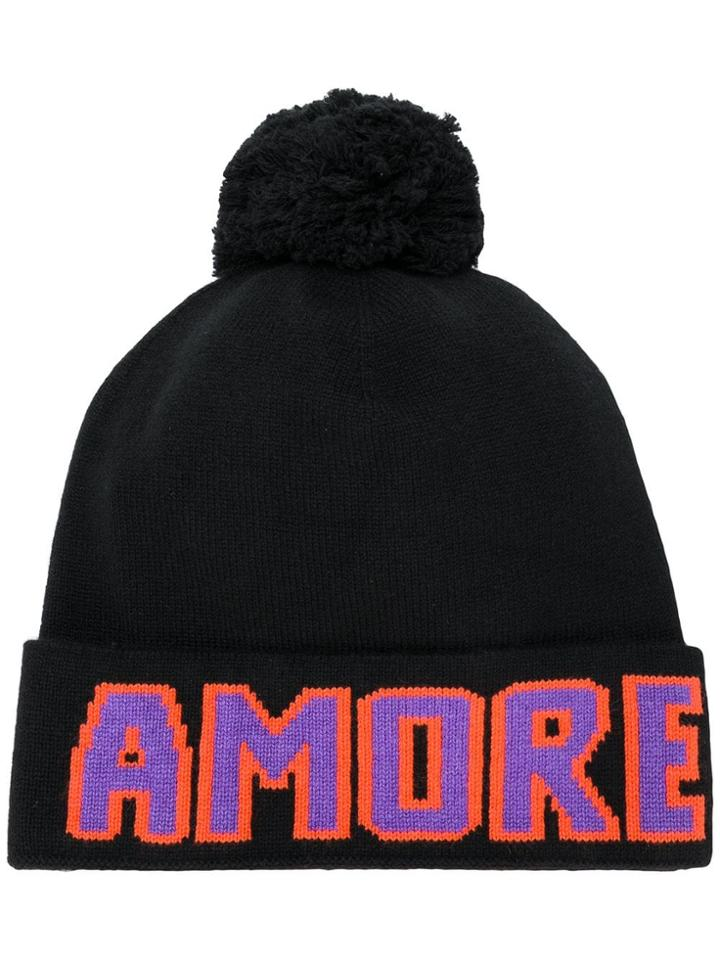 Dolce & Gabbana 'amore' Beanie - Black