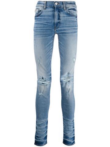 Amiri Trasher Minimal Skinny Jeans - Blue