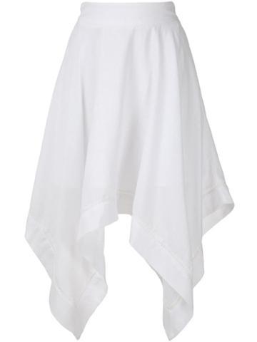 Olympiah Violette Midi Skirt - White