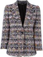 Alexander Mcqueen Tweed Blazer