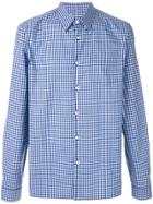 Prada Gingham Shirt - Blue