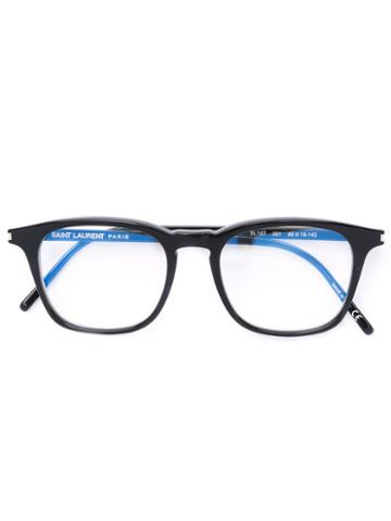 Saint Laurent - D-frame Glasses - Men - Acetate - 49, Black, Acetate