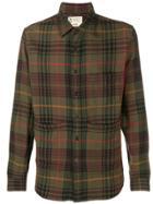 Aspesi Pocket Plaid Shirt - Green