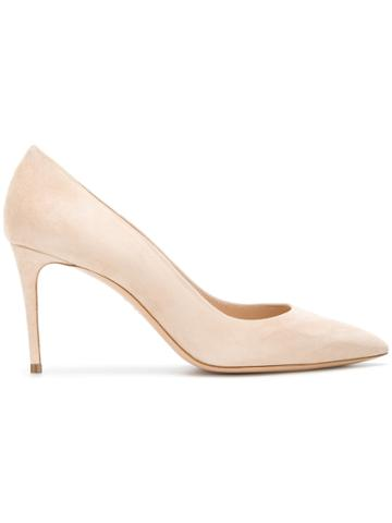 Casadei The Perfect Pump Pumps - Nude & Neutrals