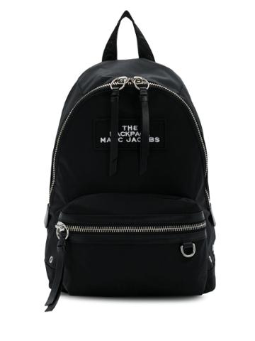 Marc Jacobs Two-way Zip Fastening Backpack - Black