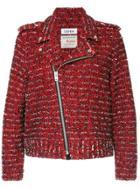 Coohem Rider Tweed Jacket - Red