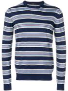 Prada Striped Sweater - Blue