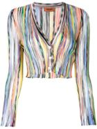 Missoni Cropped Knit Cardigan - Multicolour