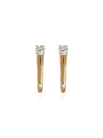 Melissa Kaye 18kt Yellow Gold Aria Earrings