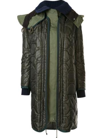 Sacai Layered Puffer Coat