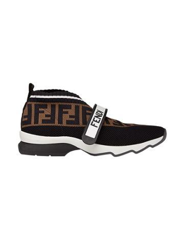 Fendi Rockoko Sneakers - Black