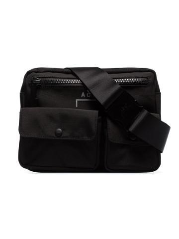 A-cold-wall* Logo Print Harness Bag - Black