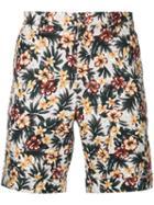 Loveless - Floral Print Shorts - Men - Cotton/linen/flax - 0, Cotton/linen/flax
