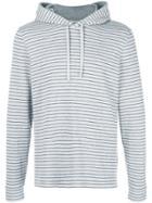 Vince Striped Hoodie - Grey