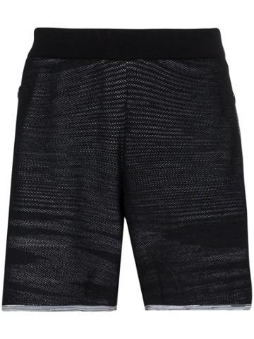 Adidas X Missoni Saturday Knit Track Shorts - Black