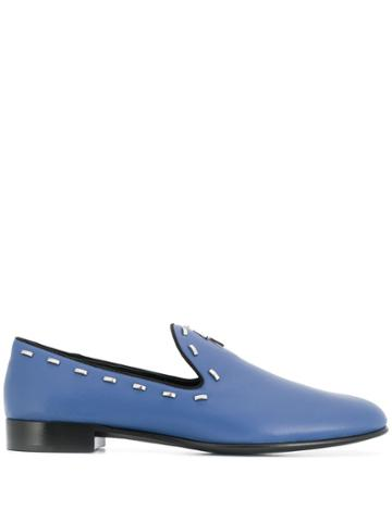 Giuseppe Zanotti Gordon Flash Loafers - Blue