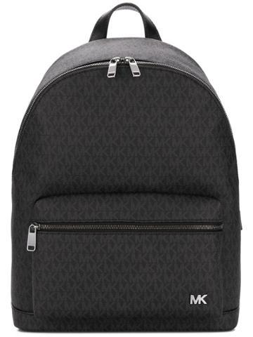 Michael Michael Kors Monogram Print Backpack - Black