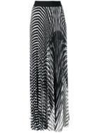 Poiret Pleated Maxi Skirt - Black