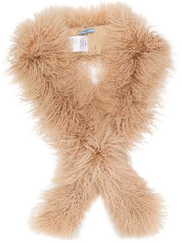 Prada Prada - Woman - Fur - Neutrals