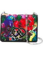 Dsquared2 Parrot Print Shoulder Bag